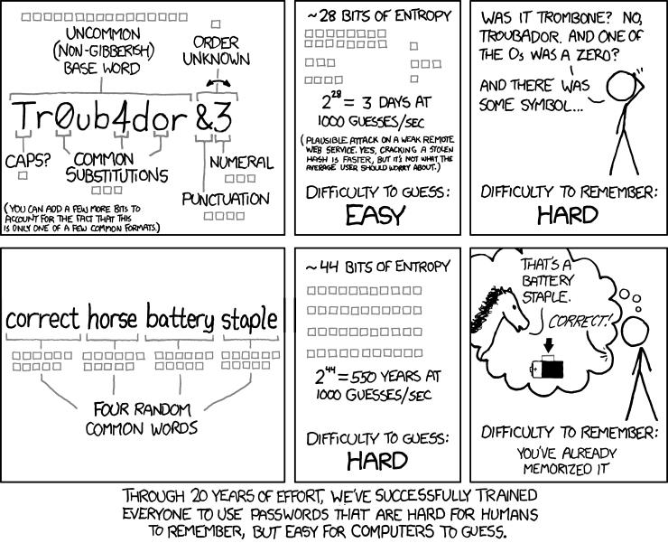 Password strategy