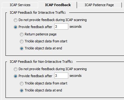 proxySG ICAP Feedback